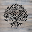 Yggdrasil Tree of Life Stencil Durable /& Reusable Mylar Stencils