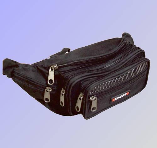 Gürteltasche Bauchtasche Hüfttasche Tasche Sporttasche Handy Tasche schwarz 7258