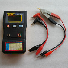 MESR-100 V2 ESR/LOW Ohm In Circuit test Capacitor meter include SMD Clip Probe