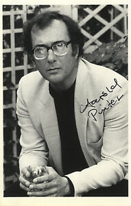 Harold-Pinter-English-039-Playwright-039-Hand-Signed-B-amp-W-Photograph