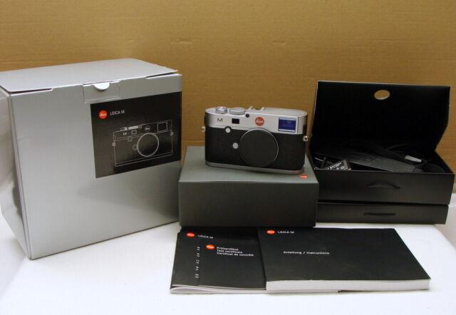 """Leica 10771 - Leica M (240) Body/ Gehäuse silbern """"nur 2200 Klicks"""" - OVP !"""