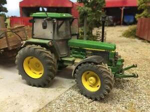 A3-John-Deere-3650-Tractor-Poster-Brochure-Britains-Farm-Model-1-32-Diorama