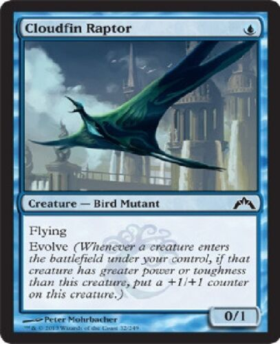 Magic Card Gatecrash Blue Uncommon 4x MTG: Cloudfin Raptor GTC
