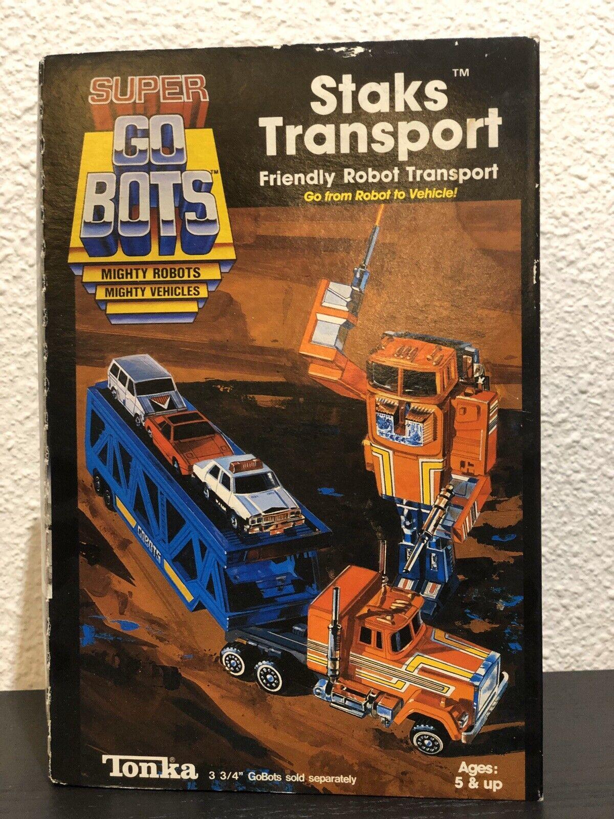 Super Gobots Robo Ma ne Stacks Transport