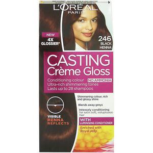 L Oreal Casting Creme Gloss Black Henna 246 3600523505890 Ebay