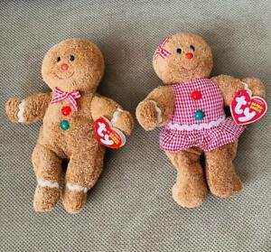 Hansel & Gretel Ty Beanie Babies 2007 - NEW w Tags Birthdates ~ January 10 & 11