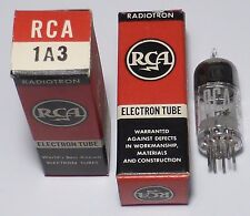 BC1000: 1A3 Diode HF US NOS NIB in RED box RCA RADIOTRON