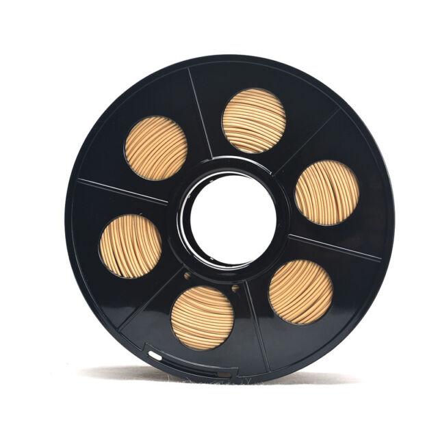 3D Printer Wood Filament 3D Printing 1kg/2.2lb 1.75mm Wood-Infused Material