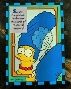 Various Skybox 1994 The Simpsons Series II Trading Cards