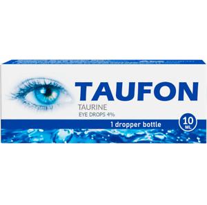 Taufon 4% 10 ml. eye drops cataract corneal injury
