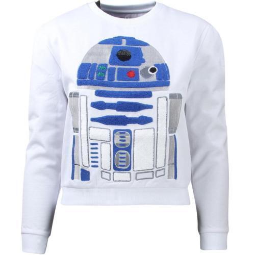 Eleven Paris x Star Wars Women Powerspace Sweater - R2-D2 white