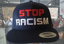 9a2e9a60f23 item 1 STOP RACISM Navy Cap FlexFit Yupoong Hat Clinton vs Trump Snapbacks  -STOP RACISM Navy Cap FlexFit Yupoong Hat Clinton vs Trump Snapbacks