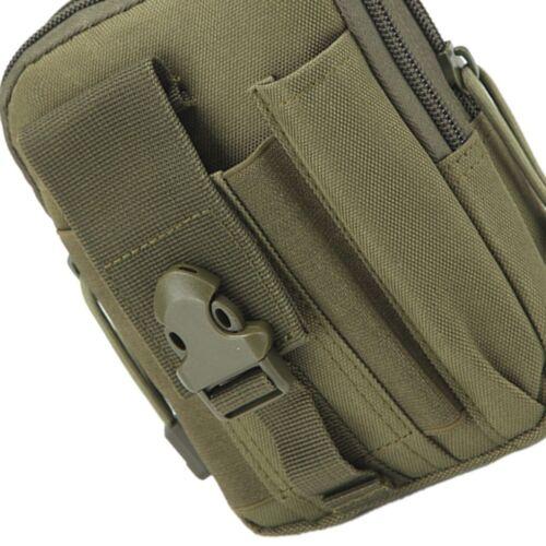 Damen Herren Outdoor Sport Taille Taschenriemen Reisetasche Münze Handy Tasche