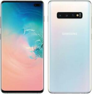 Samsung Galaxy S10 Plus 128gb Prism White Gsm Unlocked Sm G975f Smartphone 887276308494 Ebay