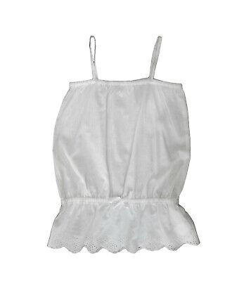Capace Camisas Niña Sin Mangas De Losan , Blanco ,talla 3 Prezzo Moderato