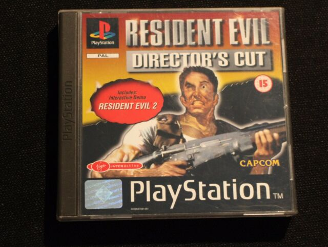 RESIDENT EVIL 1 DIRECTOR'S CUT   ✔ PS1 ✔ UK PAL ✔ MINT ✔ COLLECTORS CONDITION ✔