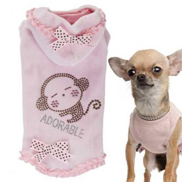 Delizioso Chihuahua Inverno Hundemode Cappotto Per Cani Pullover Per Cani Xxs-m P12 Monkey Per Spedizioni Veloci