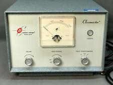 Vtg Cold War Era Tube Type Geiger Counter Radiation Detector Classmaster 1613a