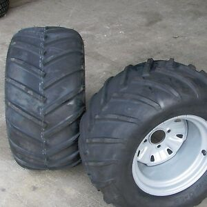 24x12 00 12 Tires Rims Wheels Assembly Garden Tractor Z