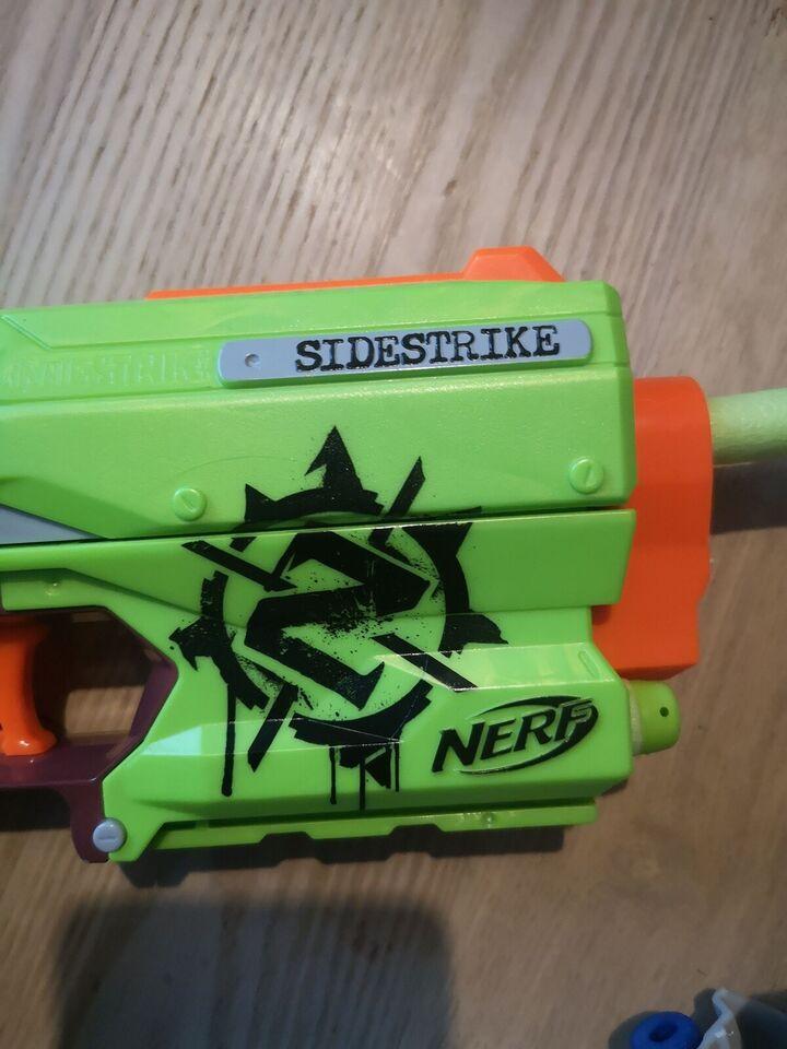 Andet legetøj, Nerf Sidestrike, Nerf