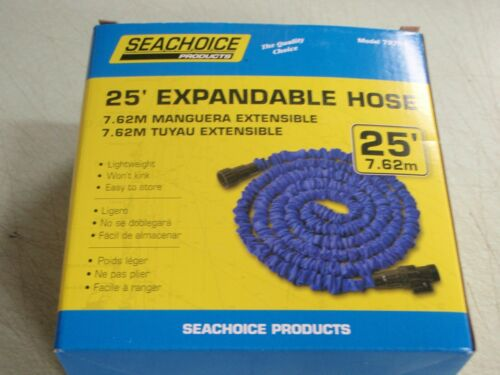 WASHDOWN 25FT EXPANDABLE HOSE 79701 LIGHTWEIGHT WONT KINK EASY TO STORE BOAT