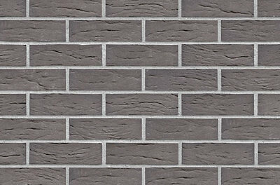 Fassade Gewissenhaft Strangpress Klinker-riemchen Nf-format Platingrau Riemchen Verblender Klinker