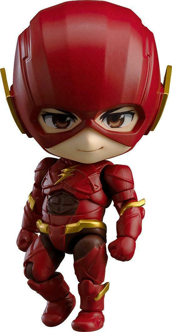 Nendoroid 917 Flash  Justice League edizione Justice League