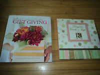 2 Crafts Books Designer Cards & Tags With K&company And Hallmark Gift Giving