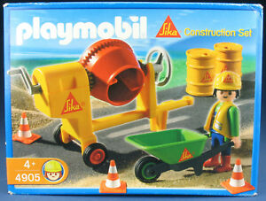 Playmobil 4905 - Ensemble exclusif de construction du chantier de construction de Sika