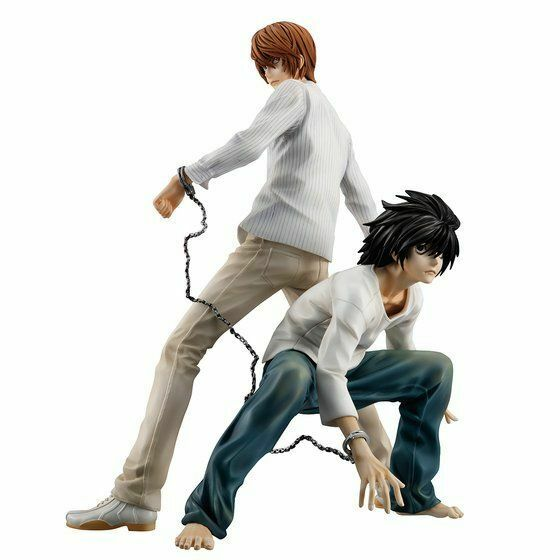 G.E.M. Series Death Note Light Yagami & L Complete Figure set MegaHouse