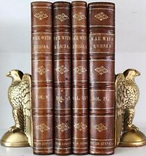 SCARCE c1855 HISTORY OF THE RUSSIAN EMPIRE HISTORY OF WAR WITH RUSSIA NAPOLEON