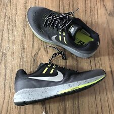 cad23f6330230 A682 Nike Women s Air Zoom Structure 20 Shield Sneakers 849582-001 Size 12  NEW