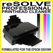 Resolver-Profesional Cabezal De Impresión Kit De Limpieza Para La Epson sx515w