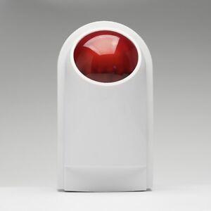 Sound-Light-Wireless-Outdoor-Flash-Strobe-Siren-For-Home-Burglar-Alarm-system