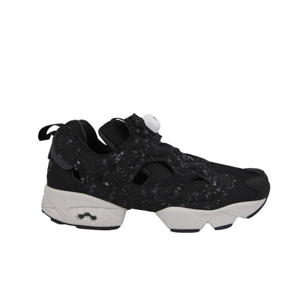 Reebok instalpump Fury SP (Negro Carbón blancoo) Para Hombre Zapatos AQ9803