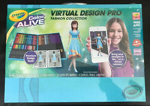 Crayola Color Alive Virtual Design Pro Fashion Collection W Case Free App 71662219215 Ebay