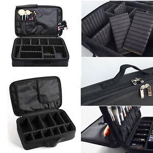 6baa2d2ab5eb Details about Women Hot Pro Large Makeup Bag Cosmetic Case Storage Handle  Organizer Travel Kit