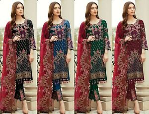 Kameez-Pakistani-Salwar-Indian-Suit-Dress-Shalwar-Stitched-Designer-Wear