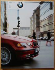 BMW 3 Series Compact 2002 2003 prestige 90p UK Market brochure prospekt