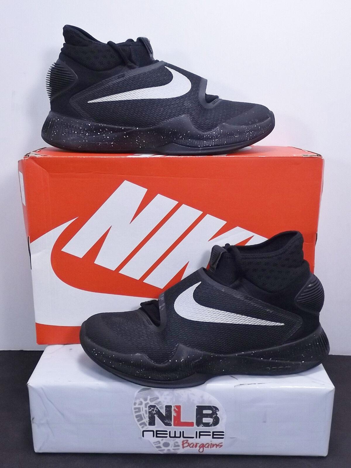 2018 Nike Zoom Hyperrev TB 820224-001 Black/Metallic Silver Men's Comfortable