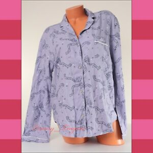 76f61ce1241ed Victoria's Secret VS Long Sleeve Button-up Bow Cotton Pajama Sleep ...