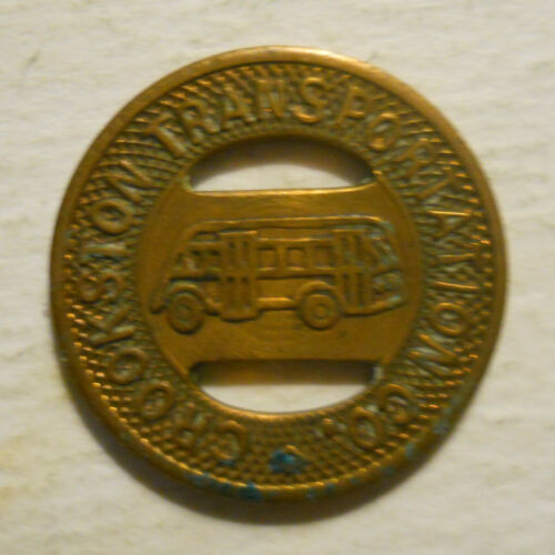 transit token MN190B Crookston Transportation Company Minnesota