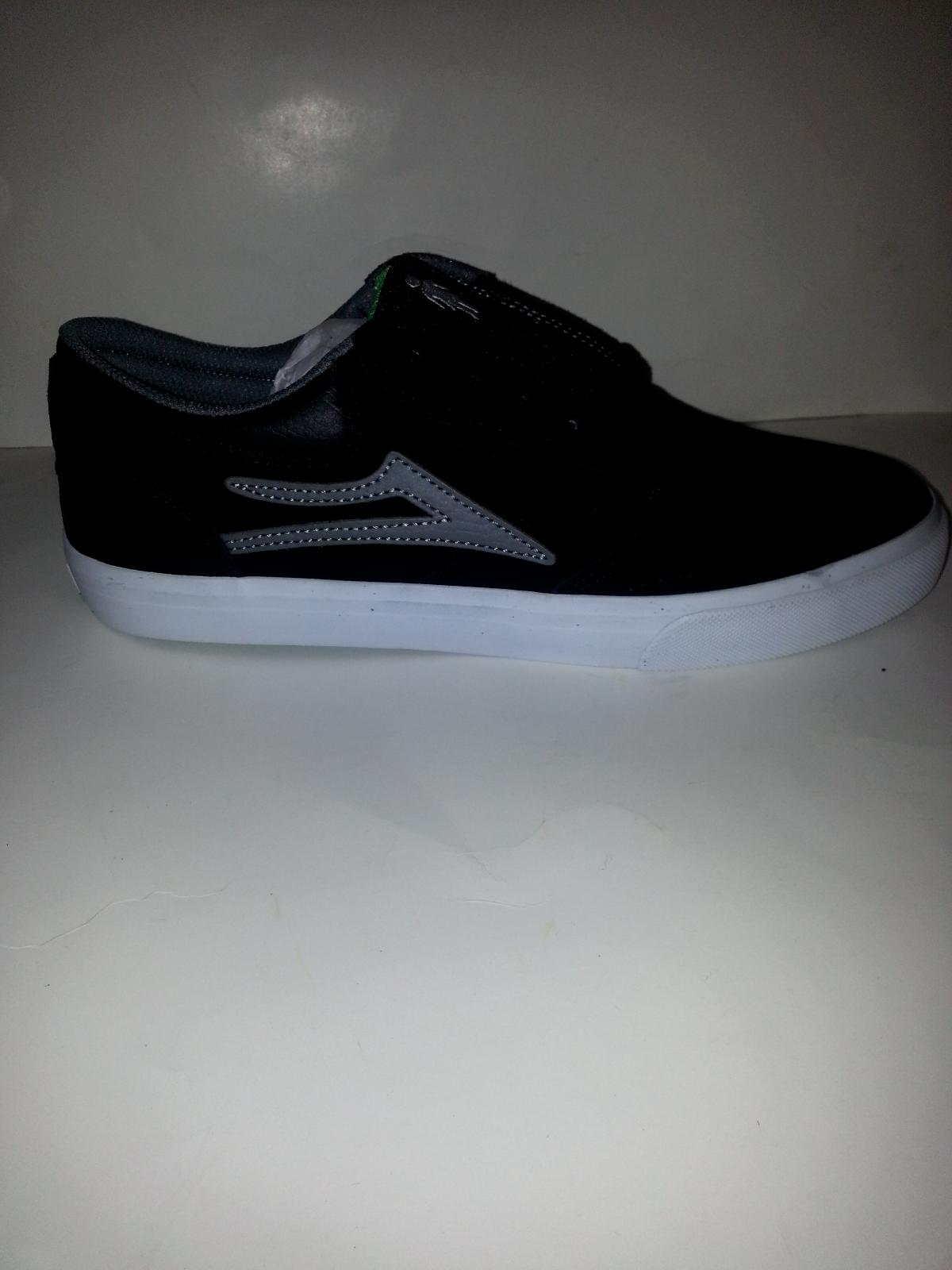 fille skateboard x lakai griffin hommes skateboard fille chaussures; en daim noir / gris / ms317-0227-a00; 4045d3