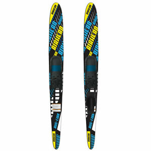 Airhead-AHS-1300-67-Inch-Fiberglass-Adult-Adjustable-Combo-Water-Skis-Black