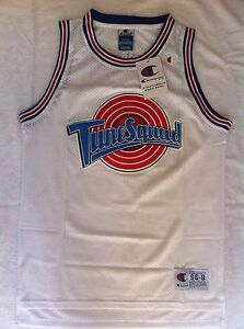 3643994b44b Tank top nba basketball Space Jam Tunesquad jersey Michael Jordan ...