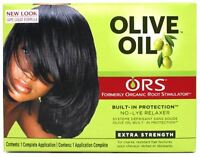 Organic Root Stimulator Olive Oil No Lye Relaxer Kit, Extra Strength (pack Of 4) on sale