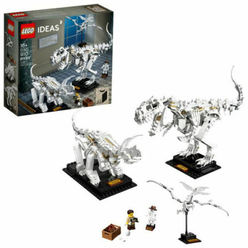 Hard to find Dinosaur Fossils Building Kit 21320 Free shipping LEGO Ideas