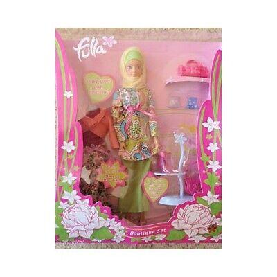Fulla Doll Prayer Rug Woven With Silk Blend Girl/'s Eid Gift Oriental Barbie Rugs
