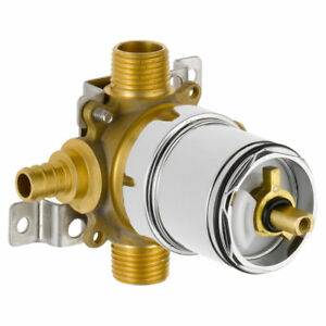 Tub And Shower Valve.Details About Peerless Ptr188700 Px Rough In Pressure Balance Tub Shower Valve Pex Inlet 1 2