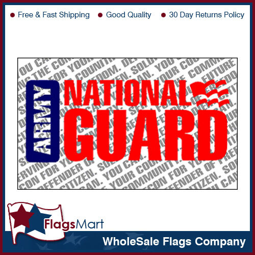 3x5 ft National Guard Flag #F1335